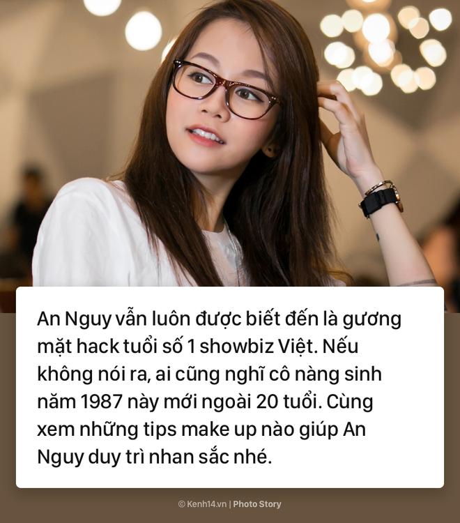Học theo An Nguy thủ thuật make up để luôn trẻ trung như gái 20 - Ảnh 1.