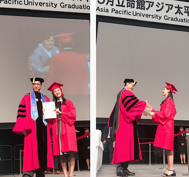 Chỉ 1 bức hình chụp lúc tốt nghiệp, Á khôi Du học sinh Việt toàn thế giới lại khiến dân mạng rung rinh vì quá xinh - Ảnh 3.