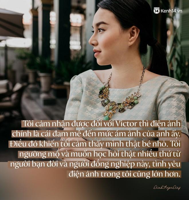 Đinh Ngọc Diệp: Tôi không phải là đam mê của Victor Vũ! - ảnh 5