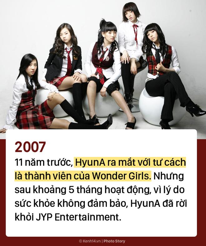 Kẻ ăn không hết người lần chẳng ra: Sự thật HyunA đã debut tận 7 lần rồi! - ảnh 1