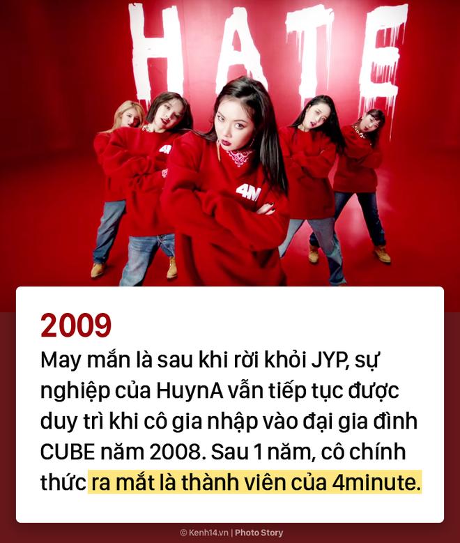 Kẻ ăn không hết người lần chẳng ra: Sự thật HyunA đã debut tận 7 lần rồi! - ảnh 2