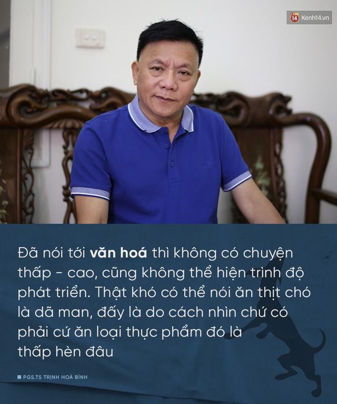 Nhà xã hội học, PGS.TS Trịnh Hoà Bình: Ăn thịt chó không phải là thước đo văn minh con người - Ảnh 4.