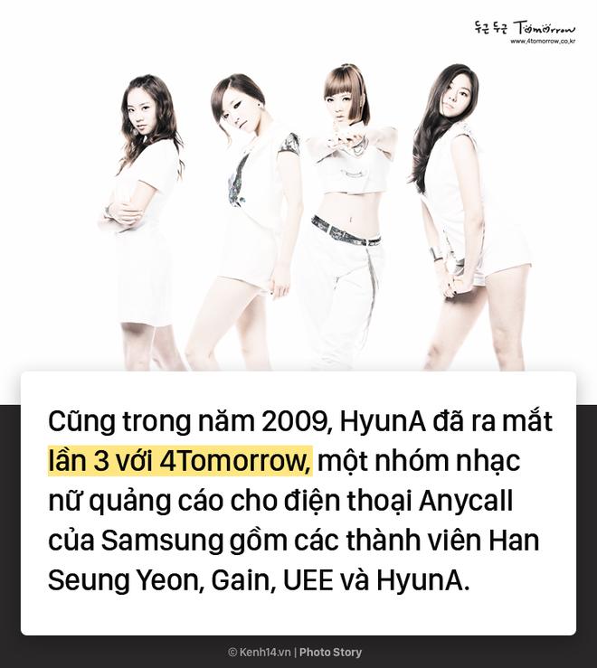 Kẻ ăn không hết người lần chẳng ra: Sự thật HyunA đã debut tận 7 lần rồi! - ảnh 3