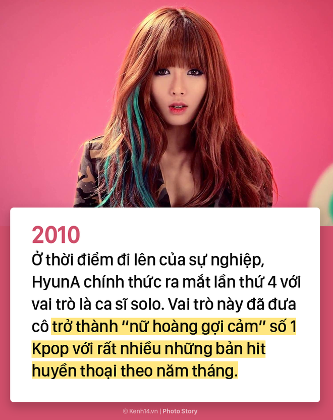 Kẻ ăn không hết người lần chẳng ra: Sự thật HyunA đã debut tận 7 lần rồi! - ảnh 4