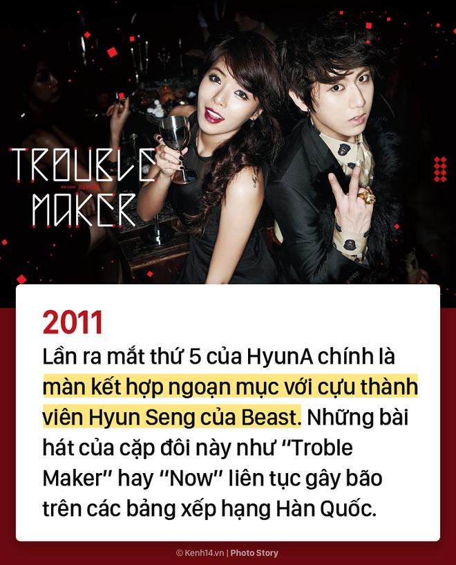 Kẻ ăn không hết người lần chẳng ra: Sự thật HyunA đã debut tận 7 lần rồi! - ảnh 5