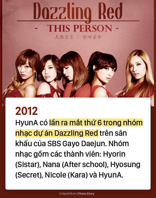 Kẻ ăn không hết người lần chẳng ra: Sự thật HyunA đã debut tận 7 lần rồi! - ảnh 6