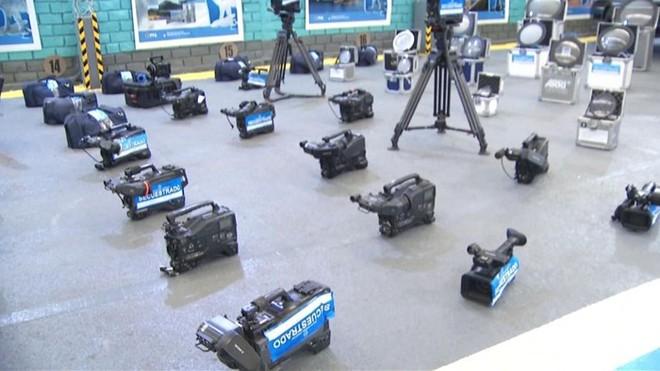 Nhiều thiết bị quay phim từ Hollywood bị đánh cắp được tìm thấy ở Argentina - ảnh 1