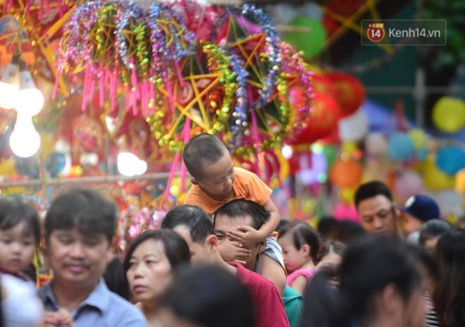 Ảnh: Chợ Trung thu truyền thống Hà Nội đông đúc ngày cuối tuần - ảnh 4