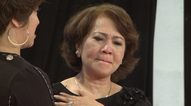 Học viện mẹ chồng: Lâm Khánh Chi bật khóc vì nhà chồng kỳ thị và chồng giấu giếm chuyện người yêu cũ - ảnh 5