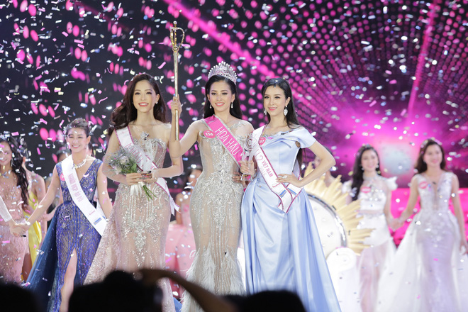 Hành trình âm thầm toả sáng suốt chặng đường Hoa hậu Việt Nam 2018 - ảnh 9