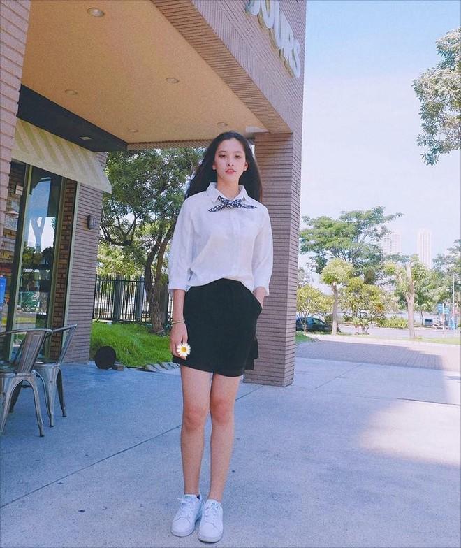 Vẻ đẹp đời thường vừa lai Tây, vừa gợi cảm hút hồn của Tân Hoa hậu Việt Nam 2018 Trần Tiểu Vy - ảnh 8