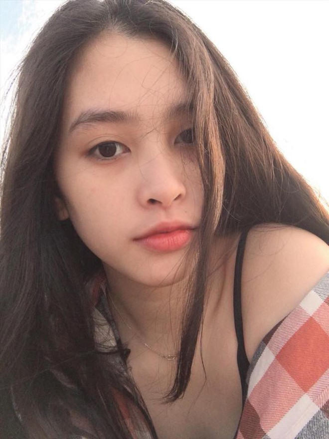 Vẻ đẹp đời thường vừa lai Tây, vừa gợi cảm hút hồn của Tân Hoa hậu Việt Nam 2018 Trần Tiểu Vy - ảnh 4