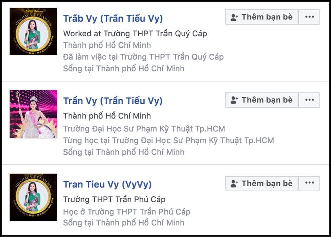 Vừa đăng quang ít phút, hàng loạt Facebook giả mạo Hoa hậu Trần Tiểu Vy đã xuất hiện tràn lan - ảnh 2