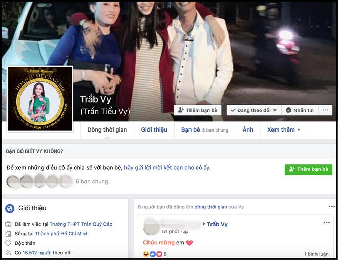 Vừa đăng quang ít phút, hàng loạt Facebook giả mạo Hoa hậu Trần Tiểu Vy đã xuất hiện tràn lan - ảnh 3