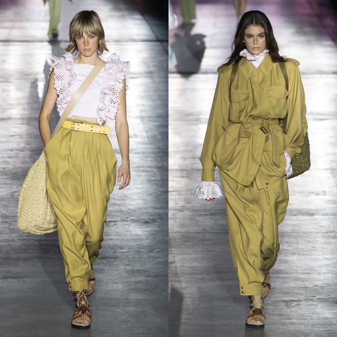 """Tần Lam và Vương Viện Khả bất ngờ tái ngộ tại Milan Fashion Week: """"Phú Sát Hoàng hậu"""" đẹp xuất sắc, lấn át cả """"Thuần Phi"""" - ảnh 21"""