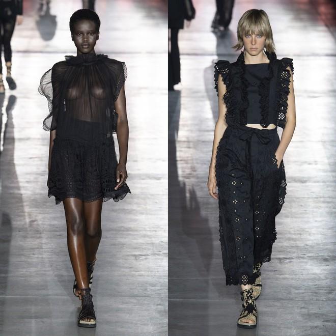 """Tần Lam và Vương Viện Khả bất ngờ tái ngộ tại Milan Fashion Week: """"Phú Sát Hoàng hậu"""" đẹp xuất sắc, lấn át cả """"Thuần Phi"""" - ảnh 22"""