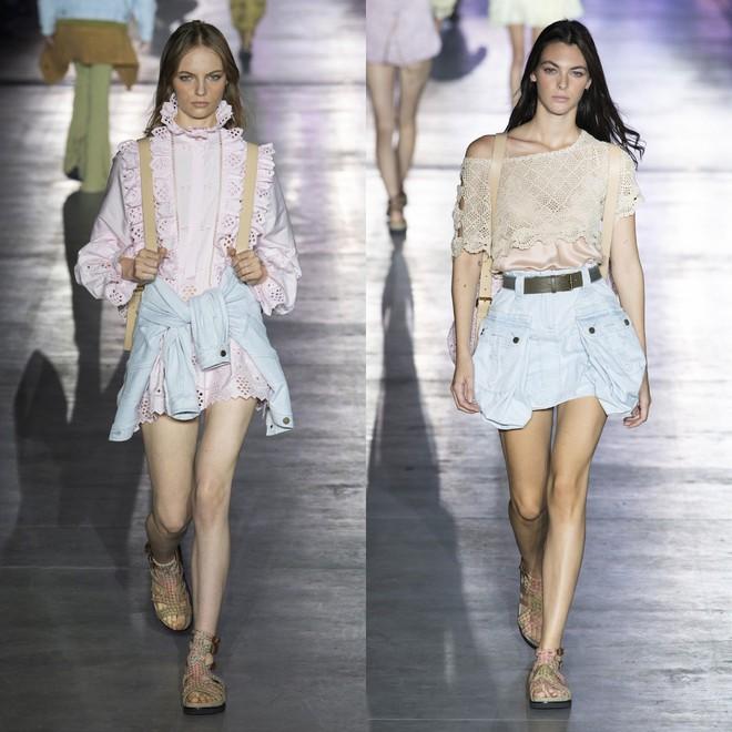 """Tần Lam và Vương Viện Khả bất ngờ tái ngộ tại Milan Fashion Week: """"Phú Sát Hoàng hậu"""" đẹp xuất sắc, lấn át cả """"Thuần Phi"""" - ảnh 26"""