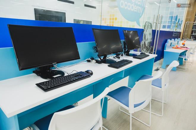 Thư viện thông minh đầu tiên dành cho thiếu nhi ở TP.HCM: Đẹp như sân chơi, có cả ngàn đầu sách và lên hình siêu ảo - Ảnh 15.