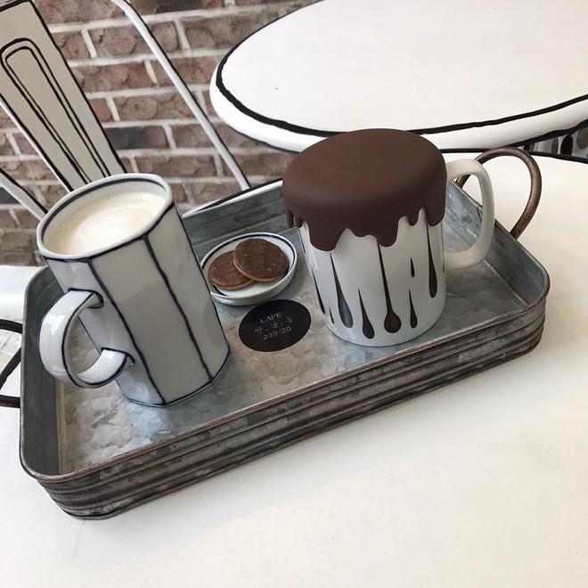 Quán cà phê mang phong cách truyện tranh siêu ảo đang hot tại Hàn Quốc - Ảnh 6.