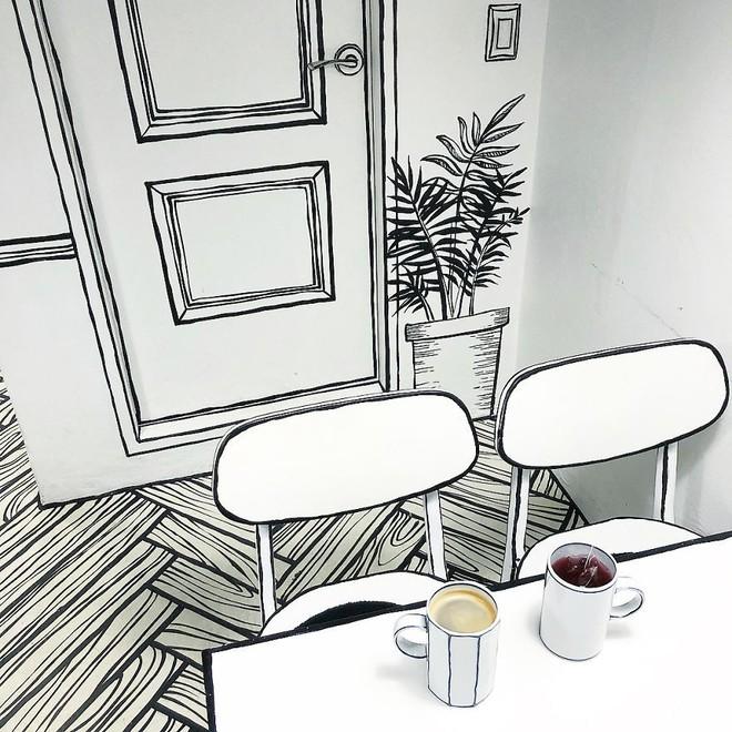 Quán cà phê mang phong cách truyện tranh siêu ảo đang hot tại Hàn Quốc - Ảnh 10.
