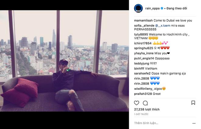 Rộ lên ảnh Bi Rain có mặt tại TP. Hồ Chí Minh vào hôm nay, nhưng liệu bà xã Kim Tae Hee có đi cùng? - Ảnh 1.