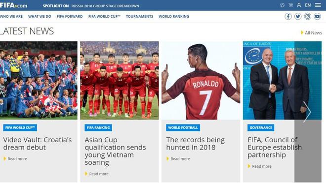 FIFA dành bài viết dài khen ngợi lứa cầu thủ trẻ Việt Nam - Ảnh 1.