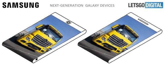 Điểm danh chỉ mặt 3 ý tưởng smartphone màn hình cong đầy tiềm năng của Samsung - ảnh 4