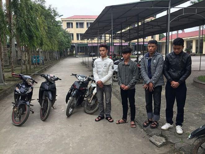 Nhóm học sinh lớp 12 lập băng nhóm trộm cắp xe máy lấy tiền tiêu xài - ảnh 1