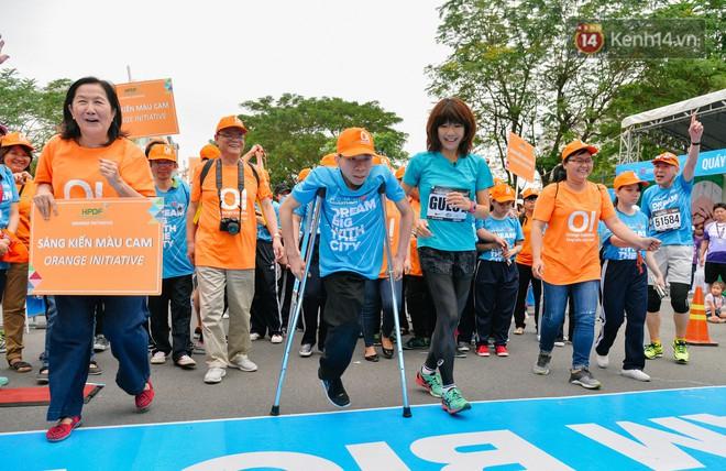 Đường đua 5km và câu chuyện vượt lên chính mình của những người khuyết tật ở Sài Gòn - ảnh 7