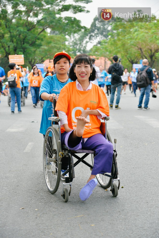 Đường đua 5km và câu chuyện vượt lên chính mình của những người khuyết tật ở Sài Gòn - ảnh 9
