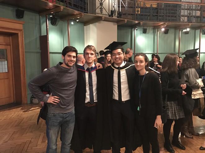 Nam sinh Việt duy nhất nhận học bổng tiến sĩ toàn phần ĐH hàng đầu nước Anh - ảnh 1