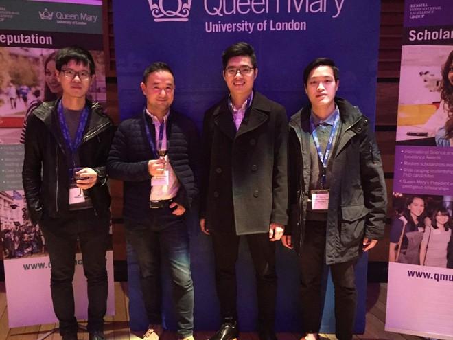 Nam sinh Việt duy nhất nhận học bổng tiến sĩ toàn phần ĐH hàng đầu nước Anh - ảnh 3
