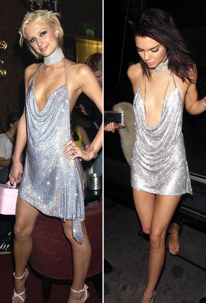 Minh Tú quá bạo, chẳng ngán mặc đầm xẻ hiểm hóc y chang Kendall Jenner lẫn Paris Hilton - ảnh 5
