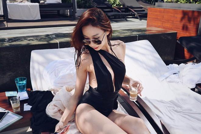 Nữ thần tượng hẹn hò tài tử Chuyện tình Harvard gây sốc vì nghiện khoe ngực, hở hang trên mạng xã hội - Ảnh 4.