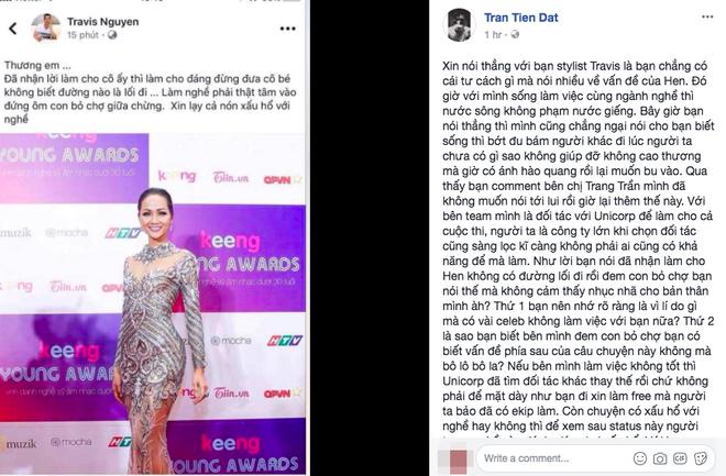Đại chiến stylist: Chê H'Hen Niê mặc xấu, cựu stylist của Phạm Hương bị ekip tân Hoa hậu vỗ mặt - ảnh 3