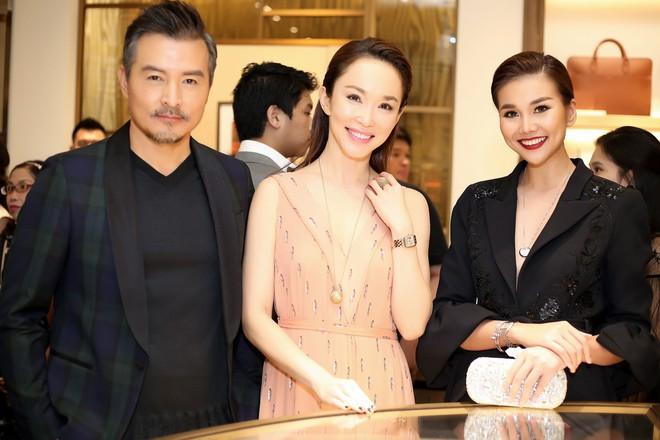 Thanh Hằng đẹp sắc sảo, đọ sắc bên Hà Tăng tại sự kiện với Lý Minh Thuận - Phạm Văn Phương - Ảnh 5.