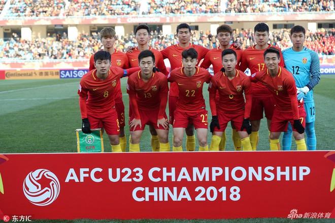 """U23 Trung Quốc thua đau trước chiếc """"xe buýt 2 tầng"""" của U23 Uzbekistan - Ảnh 3."""