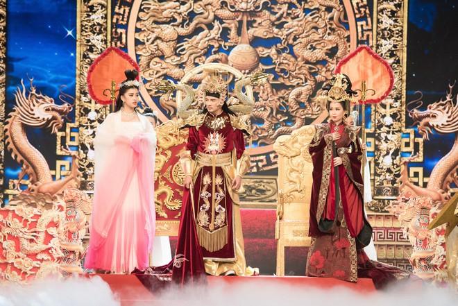 Hoa hậu Tiểu Vy lần đầu thử khả năng diễn xuất, đóng Táo 2019 cùng Mr Đàm, Cẩm Ly - Ảnh 1.