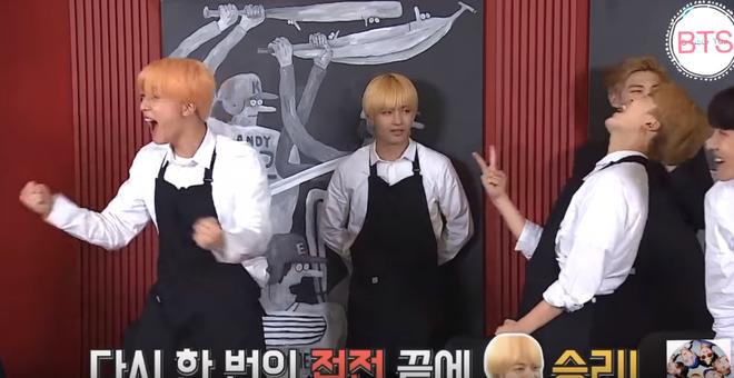 Bị phạt phải dọn dẹp, V & Jimin liền bày trò chơi khăm các thành viên BTS - Ảnh 3.