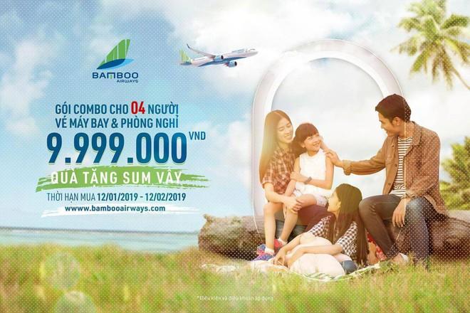 Chuyến bay đầu tiên của Bamboo Airways cất cánh từ 16/1, giá vé cơ bản chỉ từ 149.000 đồng - Ảnh 2.