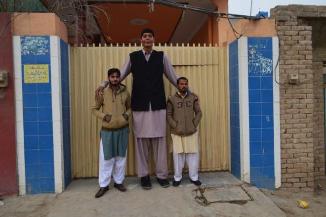 Cao đến gần 2 mét rưỡi, thanh niên Pakistan khổ sở vì mãi không tìm được người yêu - ảnh 1