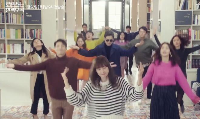 Vợ mỹ nhân của Won Bin ở tuổi U40 vẫn nhún nhảy tưng bừng ăn đứt Lee Jong Suk - ảnh 2