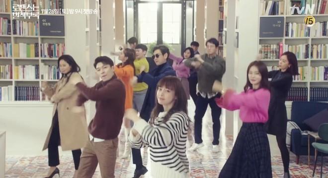 Vợ mỹ nhân của Won Bin ở tuổi U40 vẫn nhún nhảy tưng bừng ăn đứt Lee Jong Suk - ảnh 1