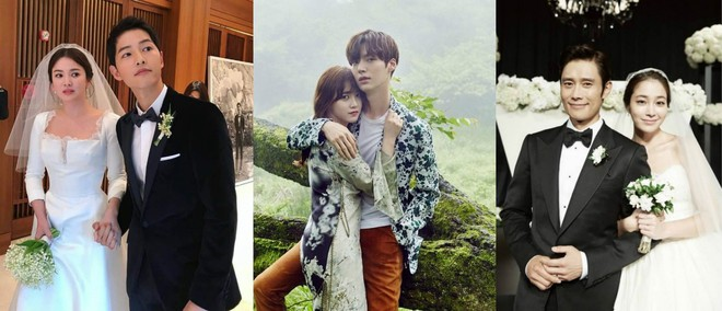 Muôn kiểu phim giả tình thật trên màn ảnh Hàn, kẻ mặt dày cầm cưa, người tranh thủ cưới lẹ - Ảnh 1.