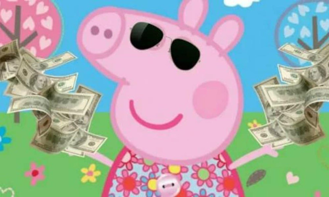 Các con buôn Trung Quốc đã hái ra tiền từ meme Peppa Pig như thế nào? - ảnh 3