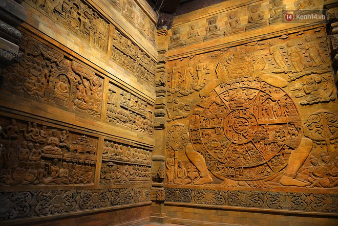 Cận cảnh ngôi chùa lớn nhất Việt Nam - Nơi sẽ đặt báu vật thiên thạch mặt trăng 600.000 USD được đấu giá từ Mỹ - Ảnh 10.