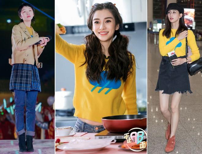 Cùng 1 chiếc áo: Angela Baby, Trương Quân Ninh trẻ ra cả chục tuổi, đến Châu Đông Vũ lại hơi khó nhận xét - Ảnh 9.