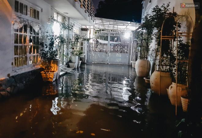 Ảnh: Triều cường tiếp tục dâng cao, nhiều nhà dân trên phố nhà giàu ở Sài Gòn bị cô lập vì xung quanh toàn nước - ảnh 10