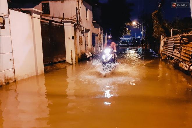Ảnh: Triều cường tiếp tục dâng cao, nhiều nhà dân trên phố nhà giàu ở Sài Gòn bị cô lập vì xung quanh toàn nước - ảnh 5