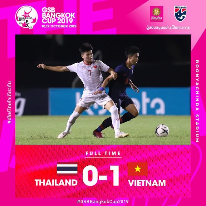 Không chỉ đội tuyển quốc gia, U19 Việt Nam cũng đem về chiến thắng ngọt ngào cho người hâm mộ trong buổi tối 10/10 tràn ngập cảm xúc - ảnh 2